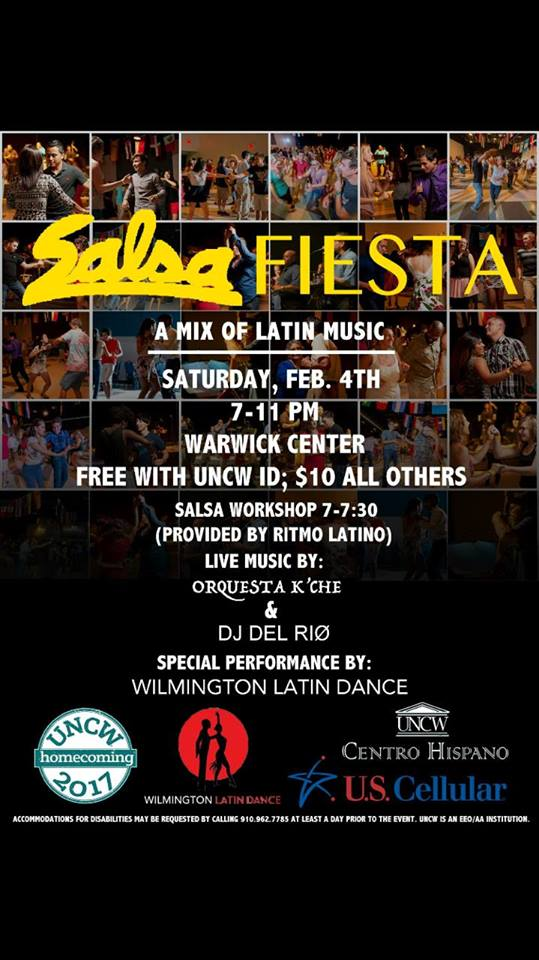 Salsa Fiesta and Hispanic Latino Alumni Mixer Event
